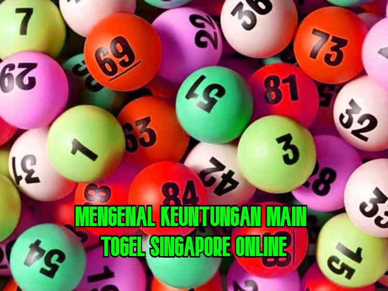 Togel Singapore Online