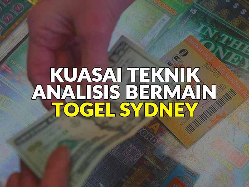 Analisis Togel Sydney