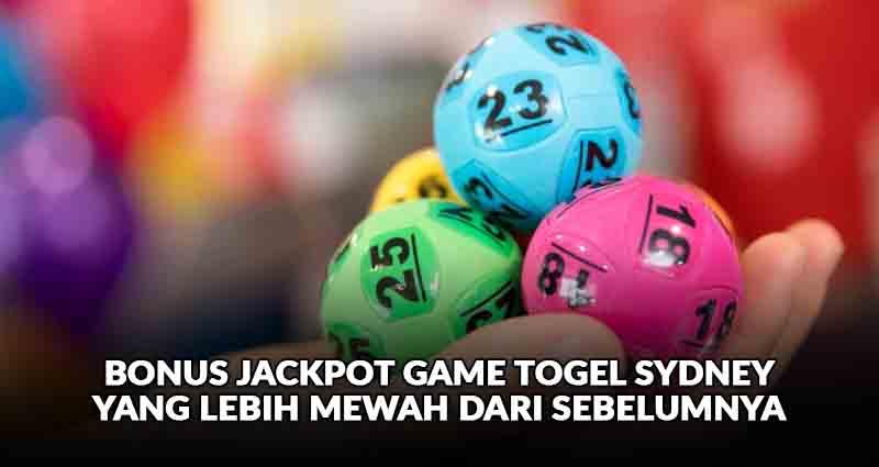 jackpot game togel sydney