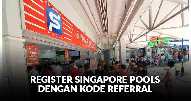 singapore pools dengan kode referral